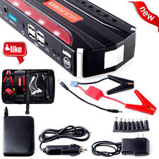 12V 68800mAh 4USB Multi-Function Car Jump Starter Power Bank Rechargable Battery