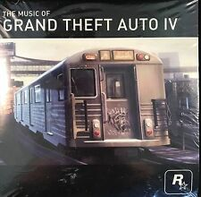 The Music Of Grand Theft Auto IV New Sealed CD Rock Star Games