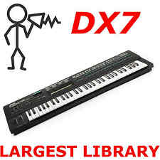 Yamaha DX7 DX5 TX7 TX802 TX816 FM7 FM8 70000 Largest Program Patch Sound Library