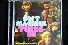 The Soft Machine Wyatt Ayers Allen Turns On 2 CD New + Sealed