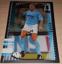 CARD CALCIATORI PANINI 2003 LAZIO STAM CALCIO FOOTBALL SOCCER ALBUM
