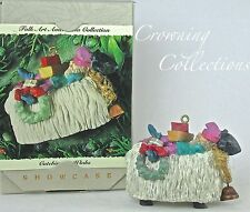 1994 Hallmark Catching 40 Winks Ornament Elf Sheep Folk Art Americana Collection