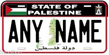 Palestine Any Name Novelty Car License Plate A1