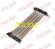 40 root For a row of Dupont Wire 20cm 2.54mm Female to Female 1P-1P For Arduino