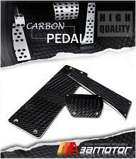 Carbon Fiber AT Auto Pedals + Footrest BMW E39 5-Series M5 24CM Gas Pedal peh4