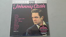 "JOHNNY CASH ""ORIGINAL SUN SOUND"" USA SUNDAZED 2015 REISSUE LP vinyl pressing"