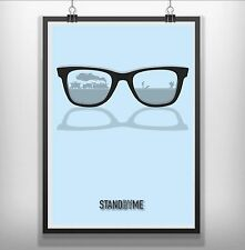 stand by me Minimalist Minimal Film Movie Poster Print