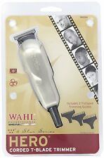 WAHL PROFESSIONAL 5 STAR HERO T BLADE SHAVER/TRIMMER (MODEL # 8991) USA VOLTAGE