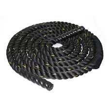 """2"""" 50ft Battle Ropes Poly Dacron Strength Training Cross Fit Exercises Workout"""