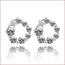 2016 New Fashion 925 silver Lucky Star Earrings Beautifully jewelry Fine gifts