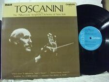 CDM 1055 BRAHMS ROSSINI MOZART Symph No 35 NYPSO TOSCANINI RCA MONO 1970 UK LP