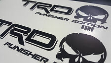 TRD PUNISHER EDITION Sticker Decal Vinyl Toyota Tundra Pickup