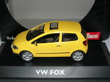 Schuco 1:43 04722 VW Fox Yellow NEW