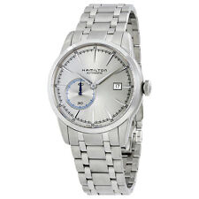 Hamilton Railroad Automatic Silver Grey Dial Stainless Steel Mens Watch