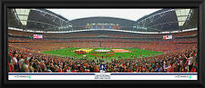 2014 FA Cup Final Line Up Framed Panoramic Photographic Print
