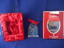 Waterford Nativity CRYSTAL 2007 ANGEL ORNAMENT GLORIA  MINT IN BOX