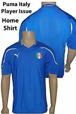 ITALIA PLAYER ISSUE HOME SHIRT DELLA SQUADRA DI polvere BLU X/Large