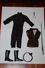 "Luke Skywalker Jedi 12"" Outfit-Hasbro-Star Wars 1/6 Custom Side Show"