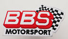 """BBS MOTORSPORT"" Sponsor Embroidered Iron-On Patch - MIX 'N' MATCH - #1T16"