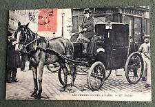 CPA. PARIS. 75 - Les FEMMES COCHER. Mme Dufaut. 1907.