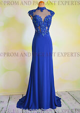 Jasz Couture Royal Blue Lace Prom Pageant Evening Formal Ball Gown Gala Dress 4