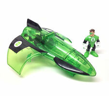 Fisher Price IMAGINEXT BATMAN  GREEN LANTERN JET toy for figures, not boxed
