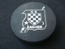 "Hockey Club, Team ""Zagreb"", puck; Yugoslavia , Croatia, Medvescak."