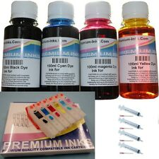 REFILL KIT REFILLABLE CARTRIDGES 600ML INK EPSON XP-760 XP-860 XP-960 NON OEM 24
