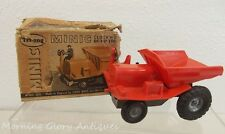 Wind Up Scale Tri-Ang Minic Dump Truck in Org Box
