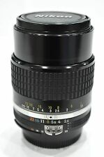 Nikon Nikkor 105mm f2.5 Ai-s manual focus Prime Portrait Lens