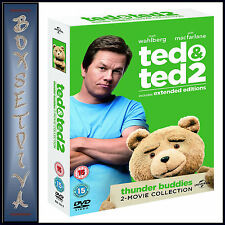 TED & TED 2 - EXTENDED EDITIONS  *BRAND NEW DVD BOXSET***