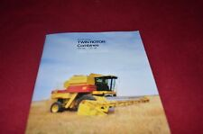 New Holland TR86 TR96 Windrow Combine Dealer's Brochure YABE