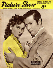 """PETER USTINOV - HOTEL SAHARA - THE GALLOPING MAJOR - """"PICTURE SHOW"""" (April 1950)"""