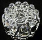 Princess House 24% Lead Crystal Clear Glass 3 Way Candle Holder No 486