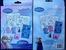 Disney Frozen Anna Elsa Olaf Stamp Activity Set