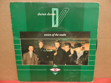 "Duran Duran Union of the Snake 7"" 45 Single 31C 006 65385 Picture Sleeve HARVEST"