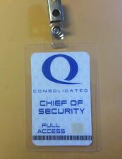 Arrow ID Badge - Queen Consolidated Chief Of Security cosplay prop costume
