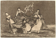 Goya Prints: Los Disparates (Follies): No.1 - Feminine Folly: Fine Art Print