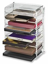 byAlegory Acrylic Palette Organizer with 8 Individual Removable Spaces Clear