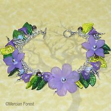 Memories of Arcadia Fairy Charm Pagan Bracelet - Fae, Sidhe, Wicca, Witch
