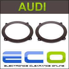 T1 Audio T1-25AU06 Audi A3 2003-2012 3 Door Rear Shelf Car Speaker Adaptor Rings