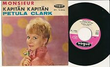 "PETULA CLARK 45 TOURS 7"" GERMANY MILLE MILLE GRACIE"