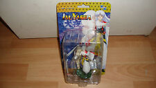 "SESSHOMARU INUYASHA MINI ACTION FIGURINE ABOUT 4"" BY TOYNAMI NEW IN CARD"