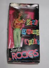 Barbie and the Rockers Diva Red Curly Haired Doll 1986 New in Box Dancing Doll