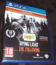 Dying Light The Following Enhanced Edition Playstation 4 PS4 NEW SEALED