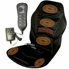 MASSAGING CHAIR COVER HEATED BACK MASSAGER FOR CAR VAN OFFICE RELAX TENSION