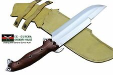 "8"" Blade Predator Survival Machete Military Kukri Knife - Full Tang Hand Forged"