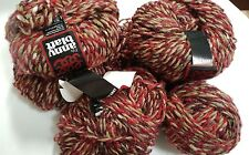 5 Tweed Wool Acrylic Mohair Silk Blend Yarn Knitting Crochet Fils Anny Blatt