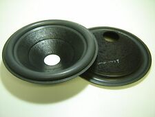 "Pair 12"" Rockford Fosgate Speaker Cone -- Recone Part -- 110022"