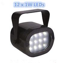 MINI 12x1W LED Luce Stroboscopica Lampeggiante multiple di controllo della velocità DISCOTECA DJ PARTY CLUB